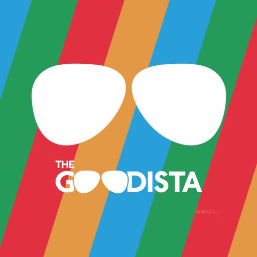 The GOODista healthy lifestyle blog logo.