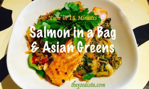 Salmon in a Bag with Asian Greens Recipe
