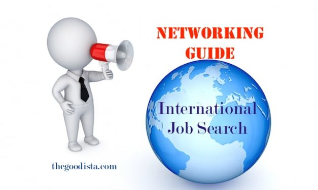 The Networking Guide to International Jobs
