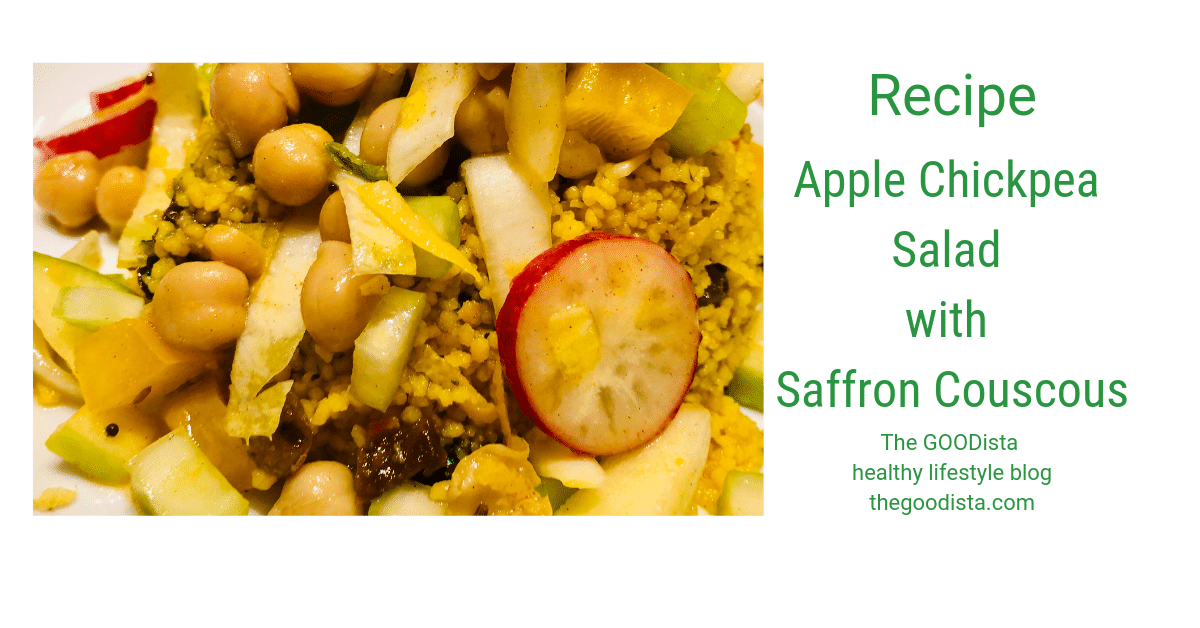 Recipe: Apple Chickpea Salad with Saffron Couscous